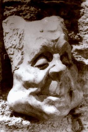 Маскарон, maska