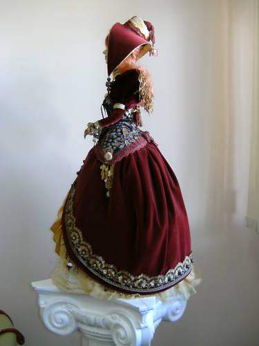 """Авторская кукла """"Рыжая"""""""